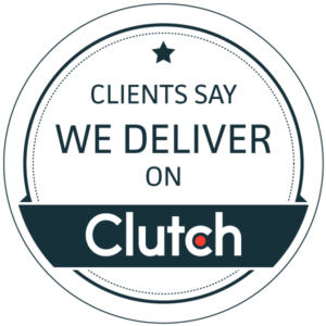 Clients say we deliver on Clutch